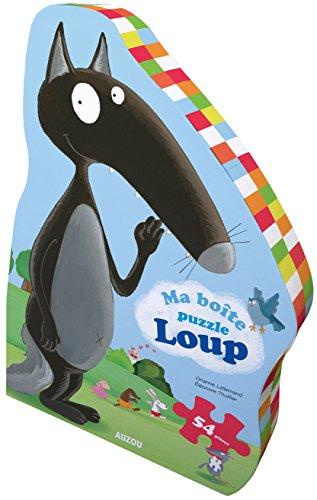 9782733835449: Ma boîte puzzle Loup : 54 pièces