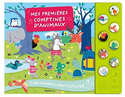 MES PREMIÈRES COMPTINES D'ANIMAUX (LIVRE-CD): MICHAUD RAPHA�LLE