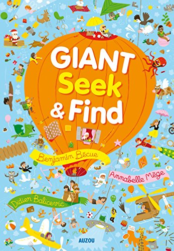 9782733839416: Giant Seek and Find