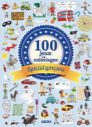 100 JEUX ET COLORIAGES SPÉCIAL GARÇONS: COLLECTIF
