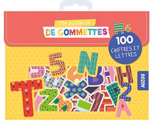 9782733859209: Ma pochette de gommettes - 100 Lettres et chiffres