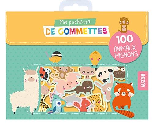9782733859254: Ma pochette de gommettes - 100 animaux mignons