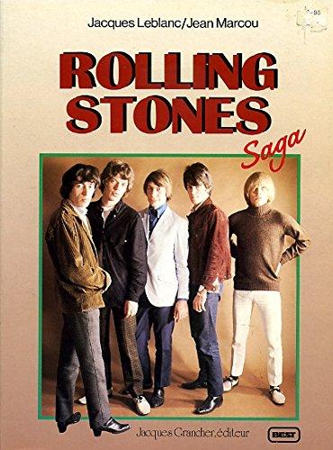 9782733901908: Rolling stones - saga