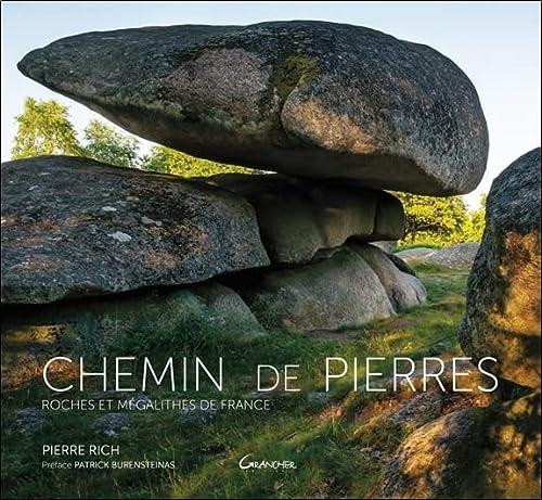 9782733913482: Chemin de pierres : Roches et mégalithes de France