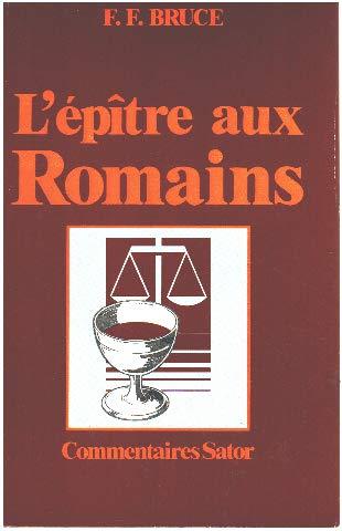 9782735001149: L'Epitre de Paul aux romains, introduction et commentaire par F. Bruce