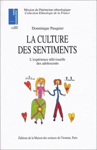 La Culture des Sentiments: L'experience Televisuelle des Adolescents: Pasquier, Dominique