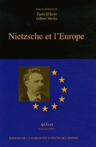 9782735110926: nietzsche et l'europe