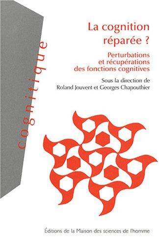 la cognition réparée ? perturbations et récupérations des fonctions ...