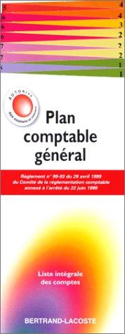 9782735202744: Plan Comptable G�n�ral : Liste int�grale des comptes