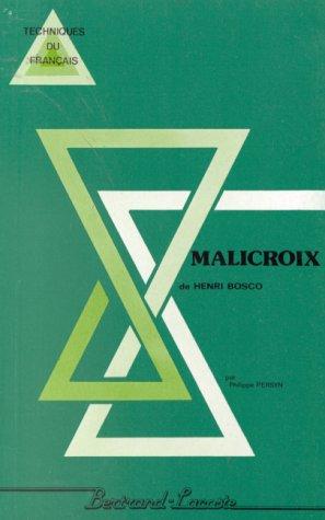9782735203031: Malicroix