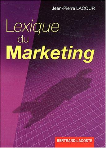 9782735208234: lexique du marketing