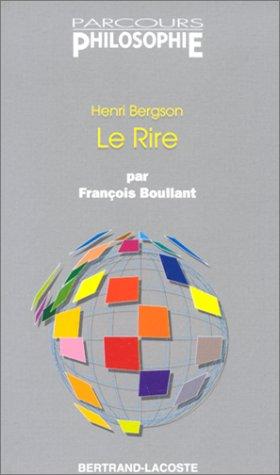 9782735210244: Bergson : Le Rire - Parcours Philisophie