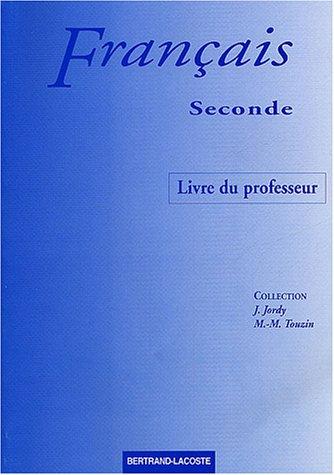 9782735214686: Français seconde : Livre du professeur