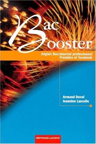 9782735214914: Anglais 1ère et Terminale Bac pro Bac Booster
