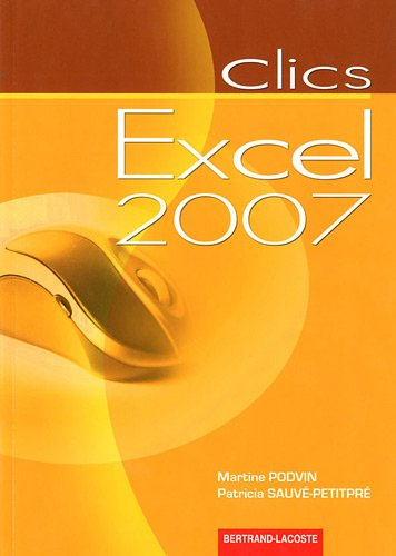 9782735222353: Clics excel 2007
