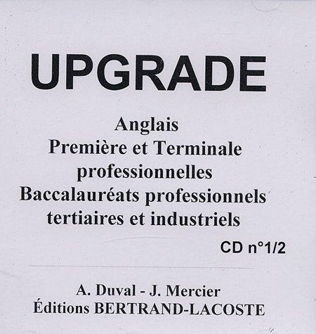 9782735290062: Anglais 1e et Tle professionnelles Baccalauréats professionnels tertiaires et industriels Upgrade : Pack de 2 CD-Audio