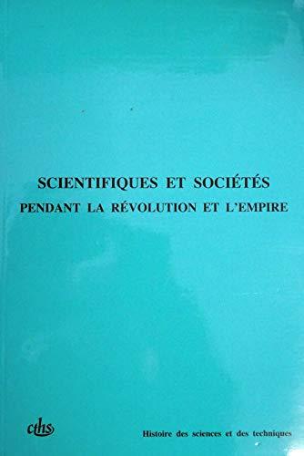Scientifiques et societes pendant la Revolution et: Congres national des