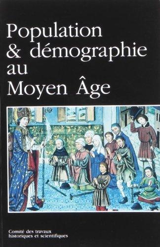 Population et démographie au Moyen Âge. Comité des travaux historiques et ...