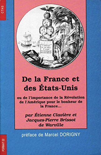 9782735503513: De la France et des Etats-Unis d'Amérique