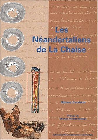 Les Neandertaliens de La Chaise: Condemi Silvana