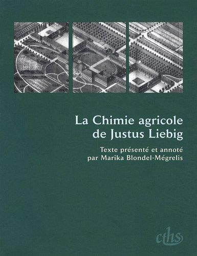 9782735505043: La Chimie agricole de Justus Liebig (French Edition)