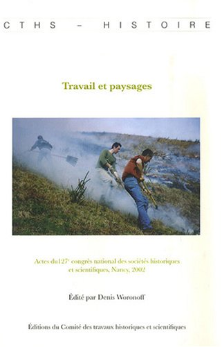 9782735505982: Travail et paysages (French Edition)