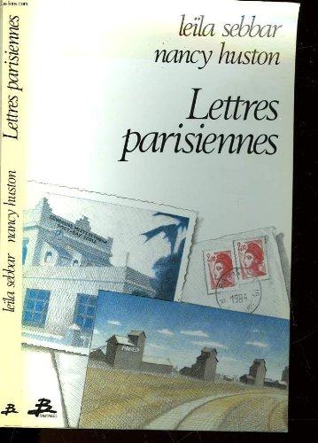 9782736000394: Lettres parisiennes : Histoires d'exil