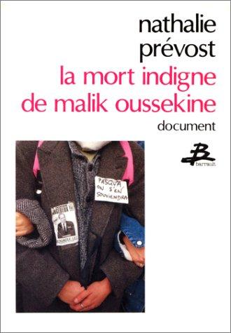 9782736000721: La mort indigne de Malik Oussekine