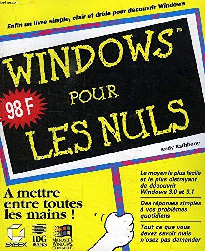 9782736114374: Windows 3. 1 pour les nuls