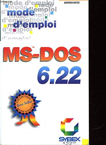 9782736114565: MS-DOS 6.22