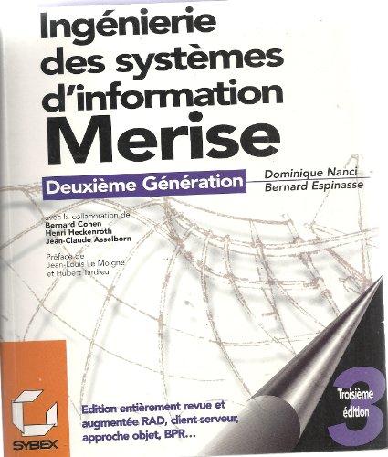 9782736122096: Ingenierie des systemes d'information : Merise, deuxieme generation