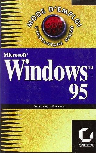 9782736127596: Windows 95 mode d'emploi