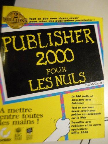 9782736133443: Publisher 2000