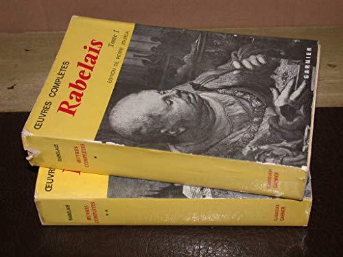 Oeuvres Completes 2 (Classiques garnier): Rabelais