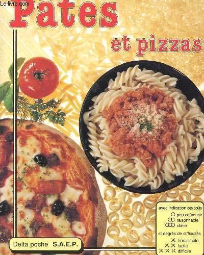 9782737225123: recettes de pates et pizzas