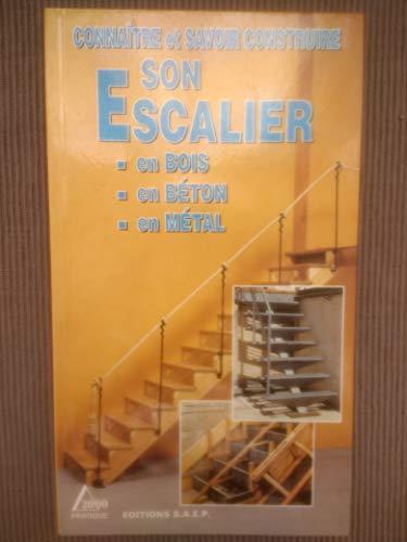 9782737241260: Connaître et savoir construire son escalier