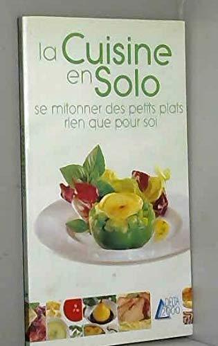 9782737248177: La cuisine en solo
