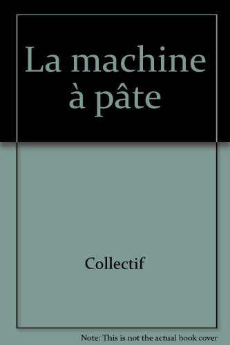 9782737281020: La machine à pâte