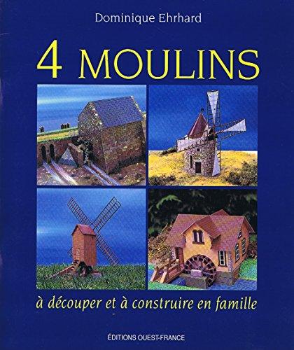 9782737320132: 4 moulins à découper et à construire