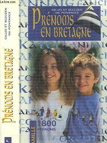 9782737324222: Prénoms en Bretagne