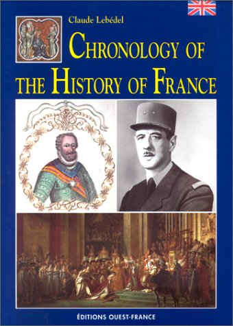 9782737325038: Chronology of the History of France