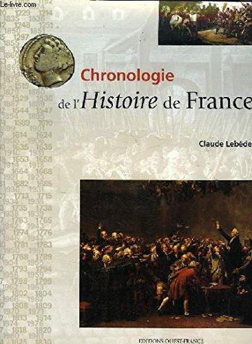 9782737328640: Chronologie de l' histoire de France
