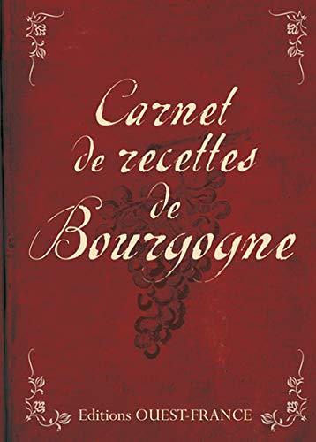 9782737349157: Carnet de recettes de Bourgogne