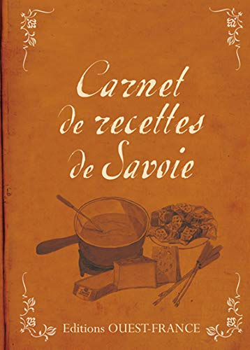 9782737356483: Carnet de recettes de Savoie