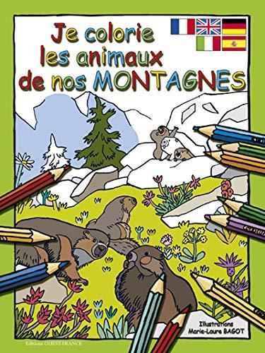 9782737357138: Je colorie les animaux de nos montagnes