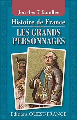 9782737360664: Jeu 7 familles histoire France grands personnages