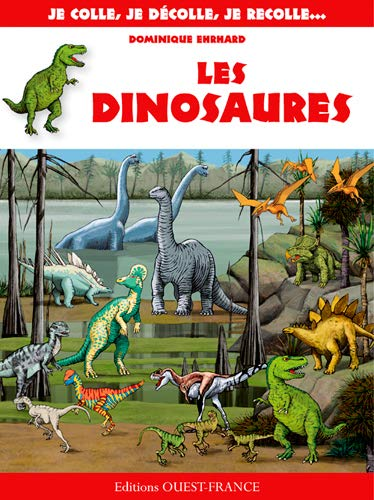 9782737363405: Colle-décolle : dinosaures