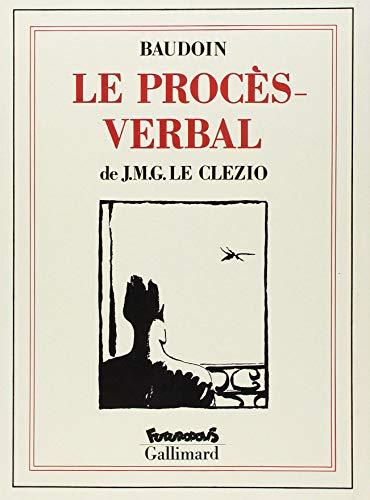 9782737626609: Le Procès-verbal