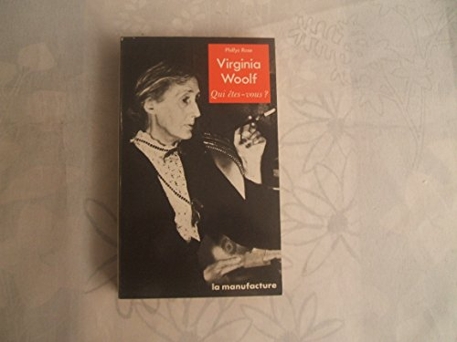 9782737700415: Virginia Woolf
