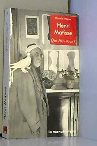 9782737700750: Henri Matisse